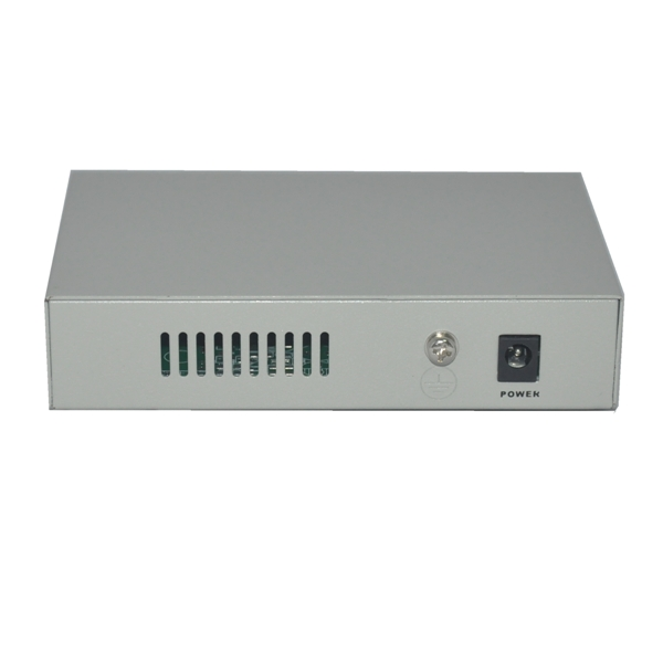 5 RJ-45 10/100M ports POE switch with power adapter